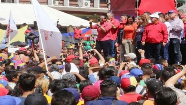 Erika Farias of the United Socialist Party of Venezuela (PSUV) has announced her candidacy for the office of Mayor of Caracas.
