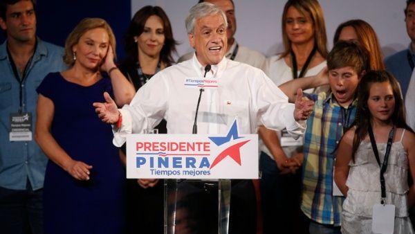 Sebastián Piñera sacó 10 puntos menos de los que las encuestas señalaban