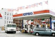 A Citgo gas station in the United States.