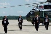 Secret Service agents tasked with protecting the U.S. president.