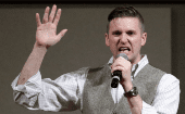 "Richard Spencer, a prominent U.S. white supremacist, is credited as among those responsible for popularizing the term ""Alt-Right."""