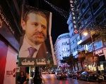 A poster depicting Lebanese Prime Minister Saad al-Hariri is displayed in Beirut.