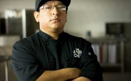 Brian Yazzie, also known as Yazzie The Cook, is a Navajo Chef from Dennehotso, Arizona, on the Navajo Nation.