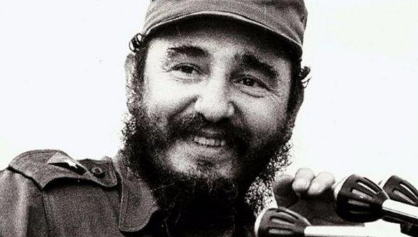 Cuban revolutionary Fidel Castro