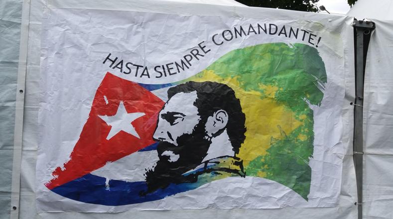 Resultado de imagen para El mundo homenajeó a Fidel Castro a un año de su partida física