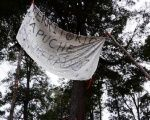 The Mapuche people protest the murder of one of its leaders.