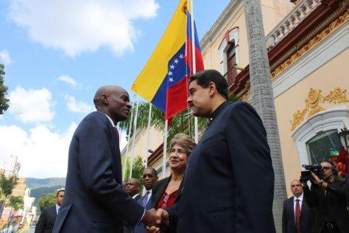 Firman Venezuela y Haití acuerdos de cooperación en agricultura y energía