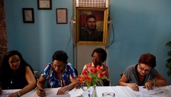 The election took place just after the one-year anniversary of the death of late Cuban leader and revolutionary, Fidel Castro.