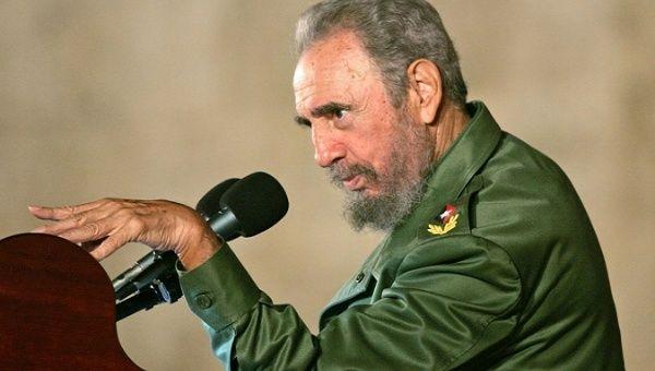 The late revolutionary Cuban leader Fidel Castro.