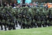 Colombian military personnel were tied to criminal gangs.