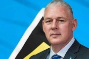Prime Minister Allen Chastanet of St. Lucia.