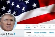 The masthead of U.S. President Donald Trump's @realDonaldTrump Twitter account.