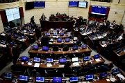 A view of Colombia's Senate on Nov. 26, 2016.