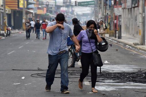 Tegucigalpa, capital del país, es epicentro de las protestas y la resistencia ciudadana.