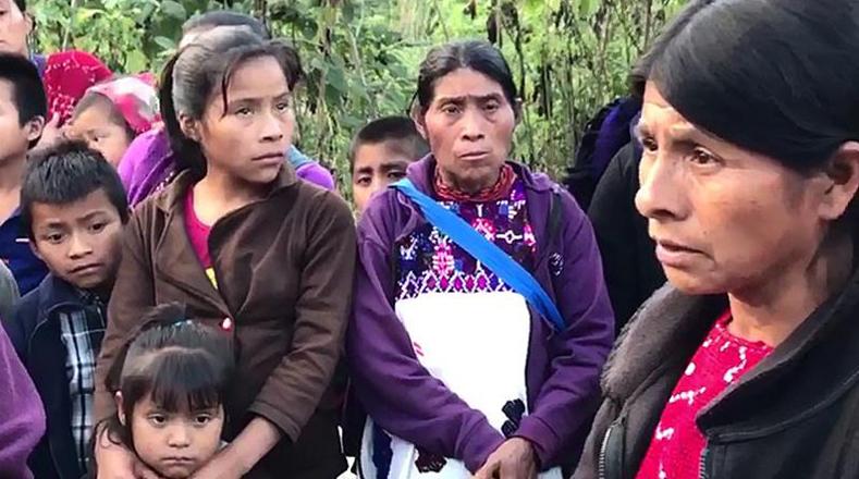Las comunidades indígenas han instado a las autoridades gubernamentales a solucionar los problemas que se viven en el territorio, de donde fueron expulsados.