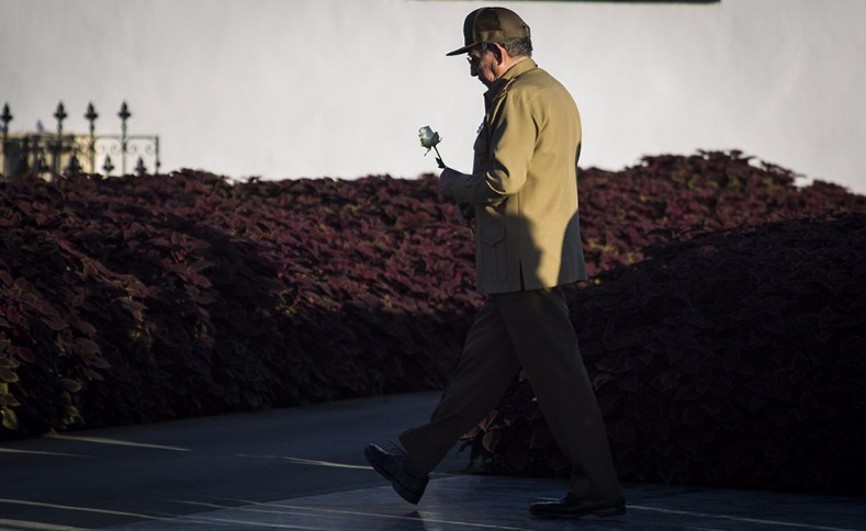Raul Castro, who continues to walk in his brother