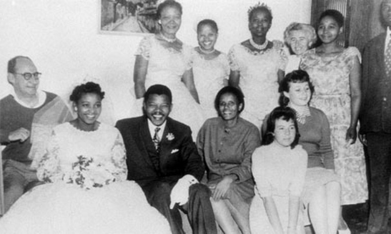 Mandela married his second wife, Winnie, in 1958, during which time he was being tried for treason.