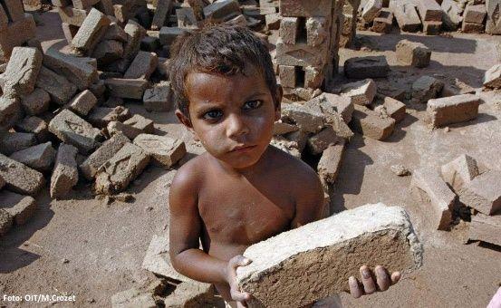 Los niños y niñas son vistos como mano de obra barata