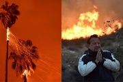 California Thomas Fire: Ventura Burns as Wind-Fueled Firestorm Spans Mountains to Ocean