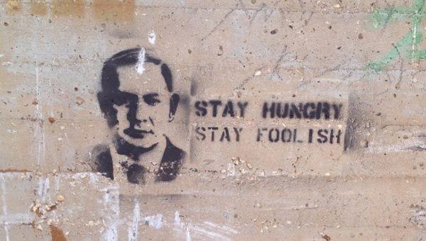 A Mural Depicts Israeli Prime Minister Benjamin Netanyahu.
