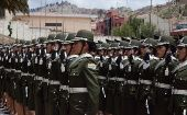More than 400 officers graduated from Bolivia