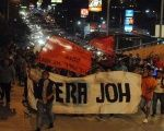 Protests against the 'fraudulent' victory of Juan Orlando Hernández sweep Honduras.
