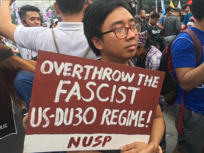 Progressive movements are increasingly calling for the ouster of Duterte.