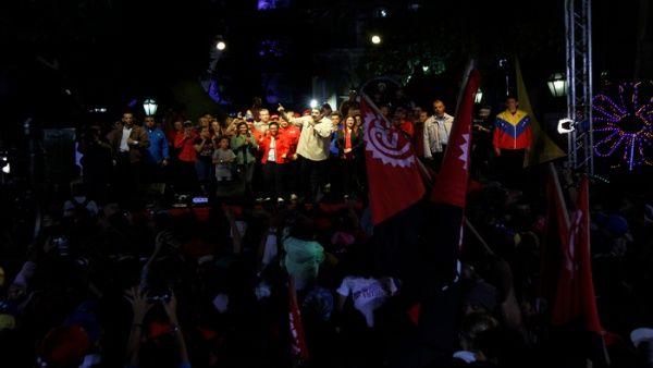 Una vez más la Plaza Bolívar fue escenario de una celebración del PSUV.
