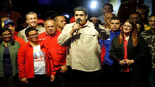 El mandatario venezolano, Nicolás Maduro, ve con optimismo los próximos comicios presidenciales de 2018.