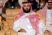 Saudi Crown Prince Mohammed bin Salman pictured at the Future Investment Initiative conference in Riyadh, Saudi Arabia October 24, 2017. | Photo: Reuters