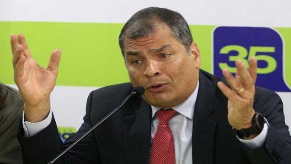 Correa aseguró que los pueblos de la región reaccionarán ante la injusticia contra líderes inocentes.