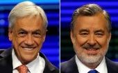 Chilean presidential candidates, Sebastián Piñera (L) and Alejandro Guillier (R), to faceoff.