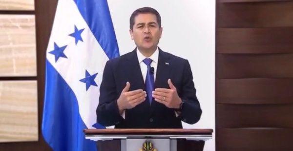 """El primer mandatario hondureño aseguró tener """"la mente abierta"""" para escuchar a sus adversarios."""
