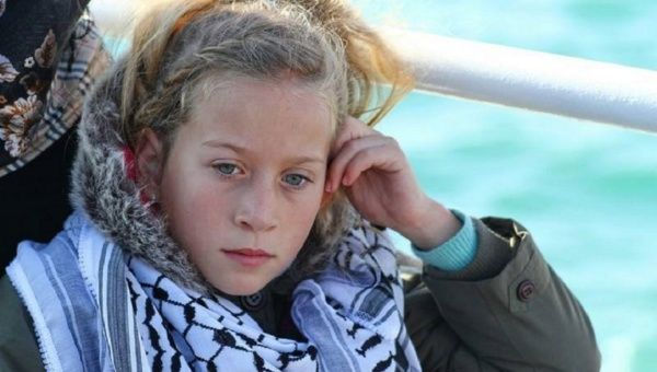 Ahed al-Tamimi, the fearless 16-year-old Palestinian girl nicknamed