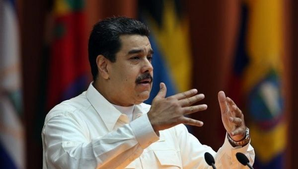 "President Nicolas Maduro, who has blamed the black-out on the U.S. government and Miami-based ""terror groups."""