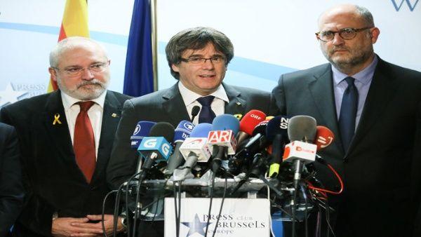 Puigdemont asegura que seguirá con la senda independentista catalana.