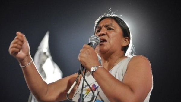 "Indigenous Argentine activist Milagro Sala has penned an open letter expressing her wish that Argentina ""have a happy Christmas for everyone, not just for the few."""