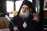 Atallah Hanna, the archbishop of the Greek Orthodox Church of Jerusalem, said relocating the U.S. embassy gives