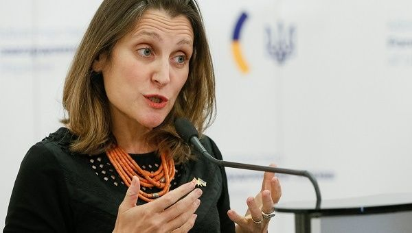 Canadian Foreign Affairs Minister Chrystia Freeland said the move was reciprocal and followed Venezuela