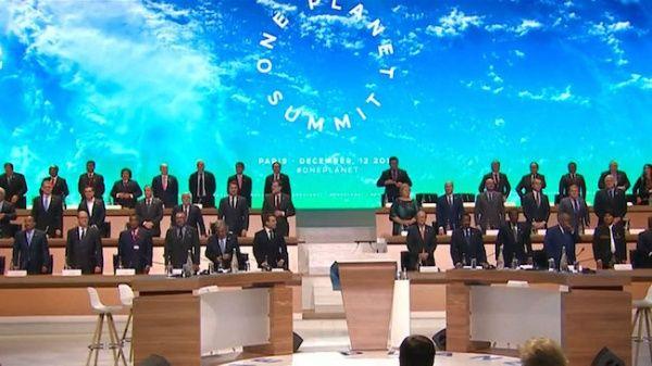 Líderes globales discuten sobre el cambio climático