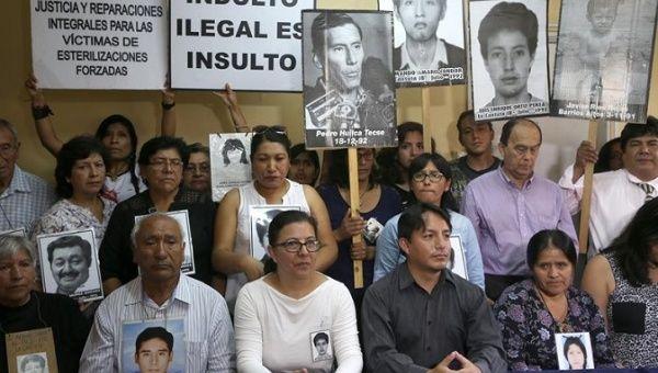 Families of Victims Reject Fujimori Pardon, Vow to Demand its ...