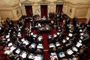 Argentina's senators debate a new tax law in the Argentine Congress in Buenos Aires, Argentina December 27, 2017.