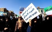 People take part in pro-government rallies, Iran, Jan. 3, 2018.