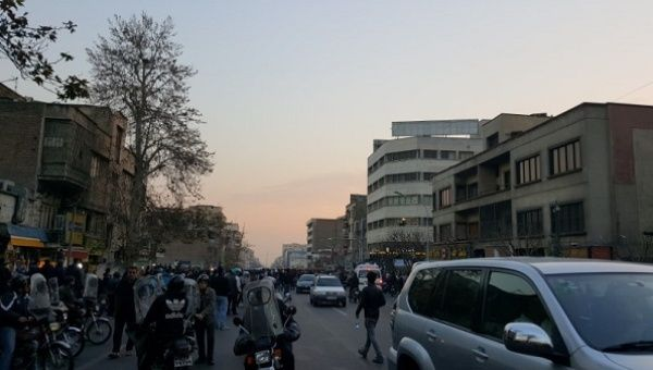The protests, which seem spontaneous and without a unifying leader, erupted a week ago in Iran