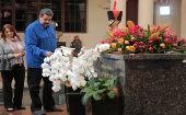 El jefe de Estado destacó la fortaleza del pueblo venezolano para enfrentar la guerra económica impuesta por la derecha.