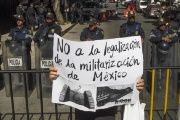 The Mexican population, social organizations and the United Nations have all criticized the new security law for allowing greater abuse and impunity.