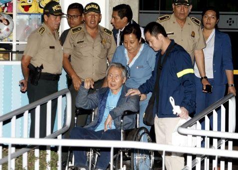 Se hace efectivo el indulto a Fujimori en clima de repudio y descontento en Perú