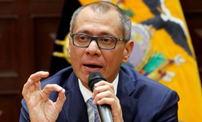 Ecuador's suspended Vice-President Jorge Glas, who is battling impeachment for his role in the Odebrecht corruption scandal.