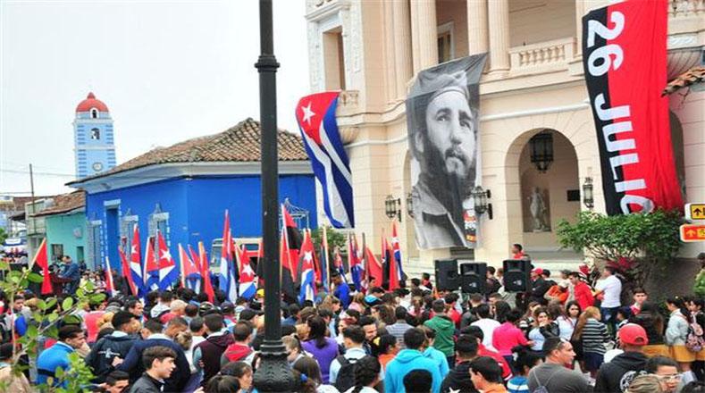 En aquella ocasión, Fidel Castro habló al pueblo desde un balcón del edificio del Ayuntamiento, hoy sede de la Asamblea Provincial del Poder Popular.