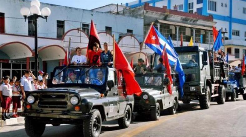 """""""La libertad no es todo. La libertad es la primera parte, es la libertad para empezar a tener el derecho a luchar"""", reflexionó el comandante de la Revolución en su paso por Camagüey."""